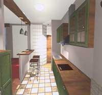дизайн интерьер кухня