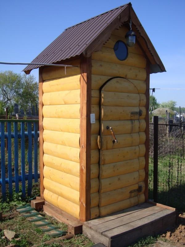 Садовый туалет своими руками фото