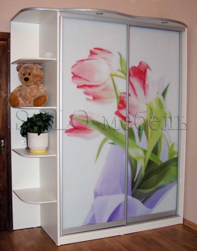 Фотопечать цветы шкафы купе фото